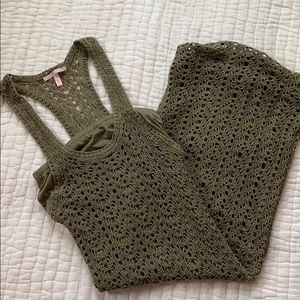 Victoria's Secret Crochet dress Olive XS